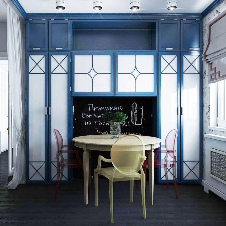 Квартира для молодой семьи г.Екатеринбург: Кухни в . Автор – Частный дизайнер и декоратор Девятайкина Софья