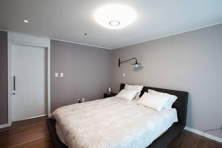 일산 강선마을 벽산아파트 58평형: MID 먹줄의  침실