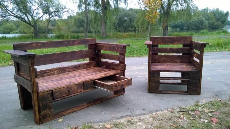 Мебель из паллет: Сад  в . Автор – Amadis