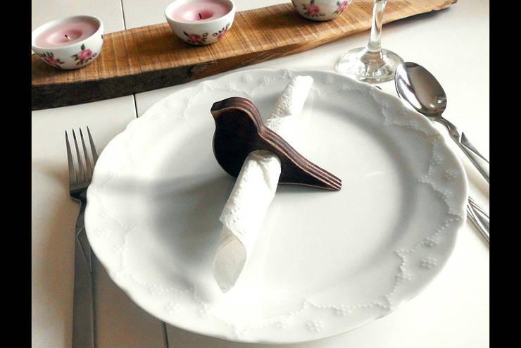 Pons Home Design – Ahşap Peçetelik:  tarz Mutfak