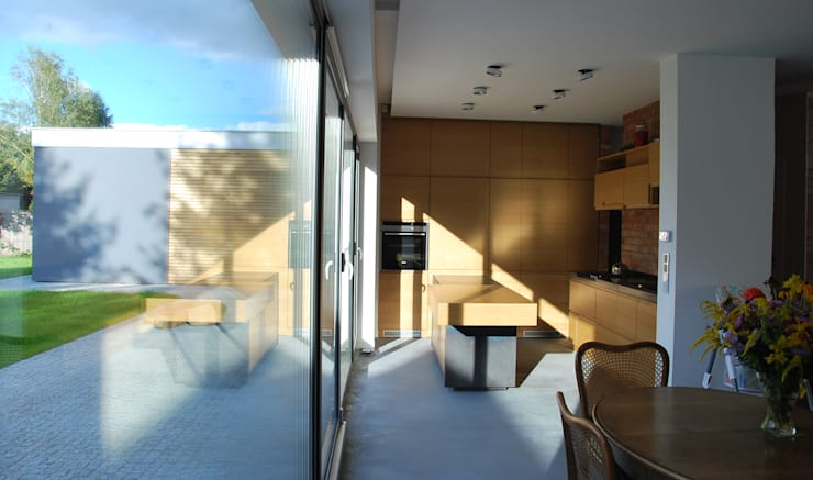 Гостиная в . Автор – Prodom Architektura i Konstrukcja