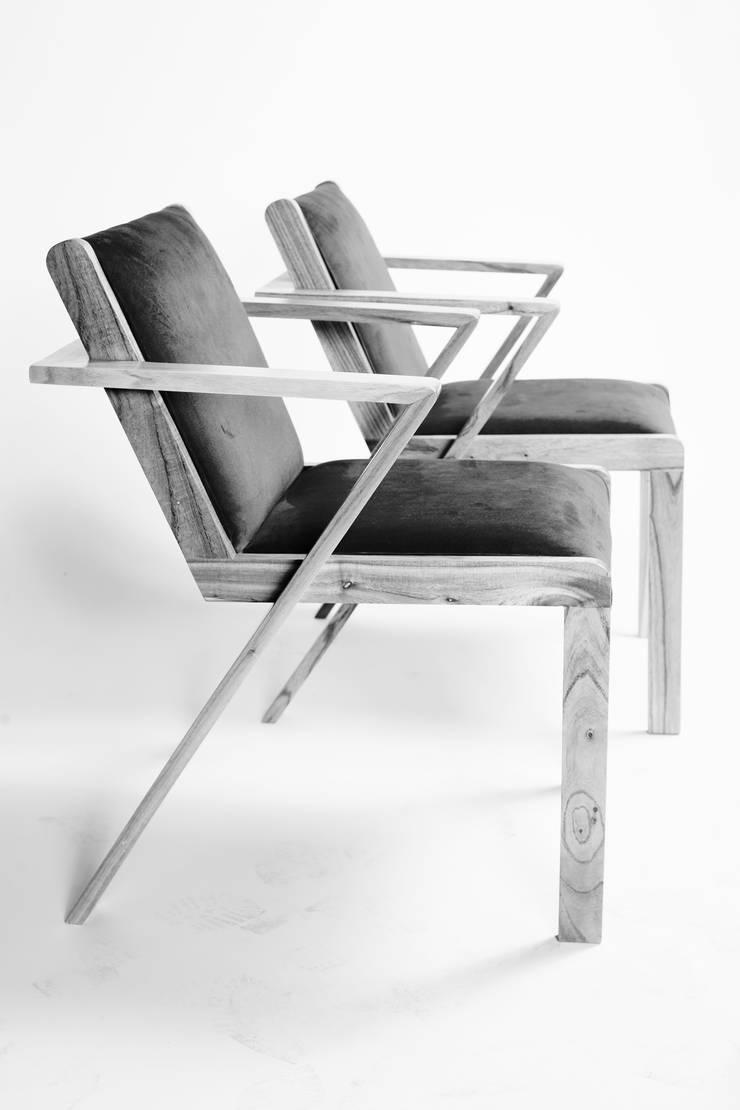 Silla Valencia :  de estilo  por BLVD / Boulevard Furniture,Moderno