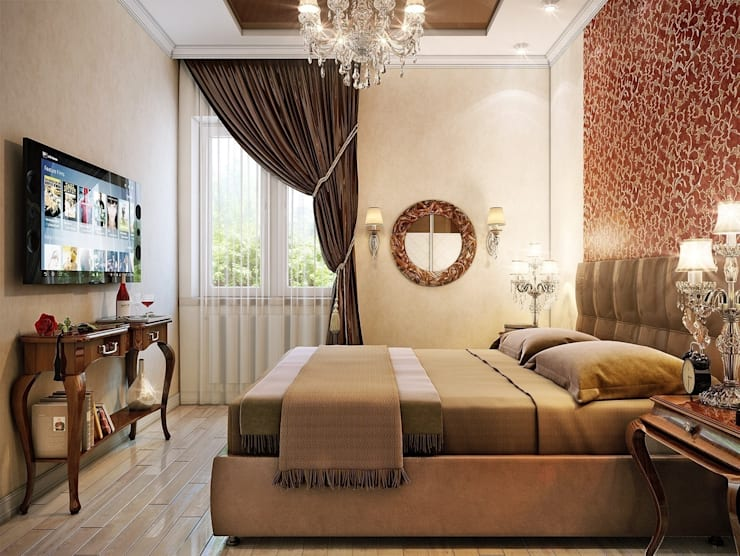 Квартира Краснопутиловская.: Спальни в . Автор – Студия дизайна Elena-art