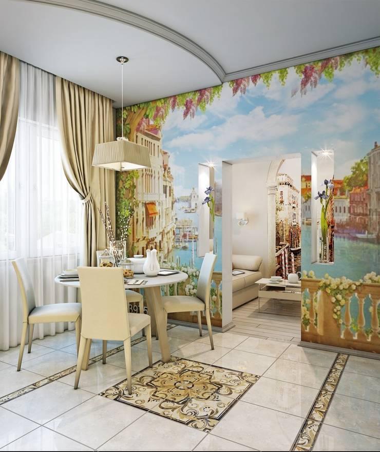 Квартира Краснопутиловская.: Гостиная в . Автор – Студия дизайна Elena-art