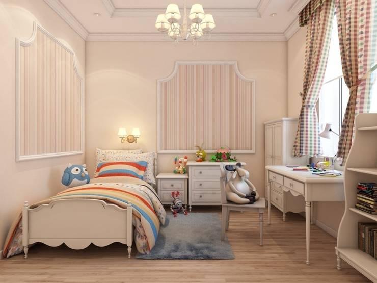 Детские.: Детские комнаты в . Автор – Студия дизайна Elena-art, Классический