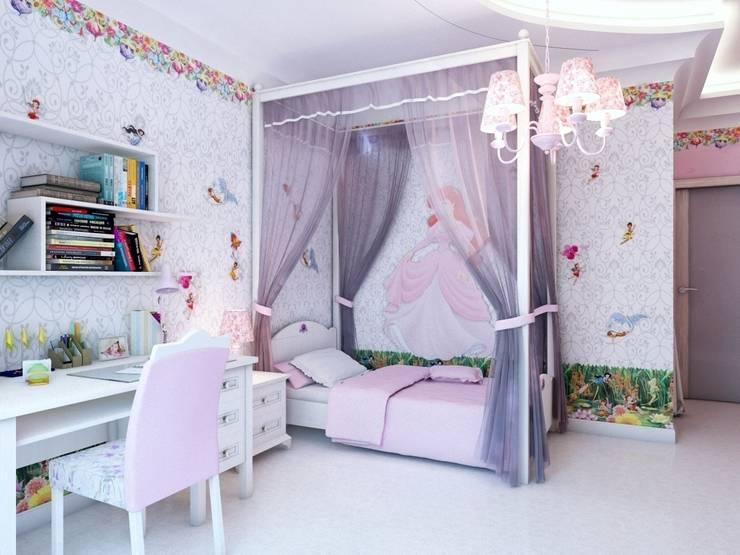 Детские.: Детские комнаты в . Автор – Студия дизайна Elena-art, Модерн