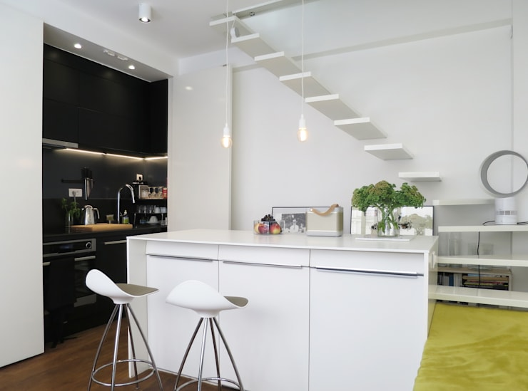 Projekty,  Kuchnia zaprojektowane przez Studio Pan