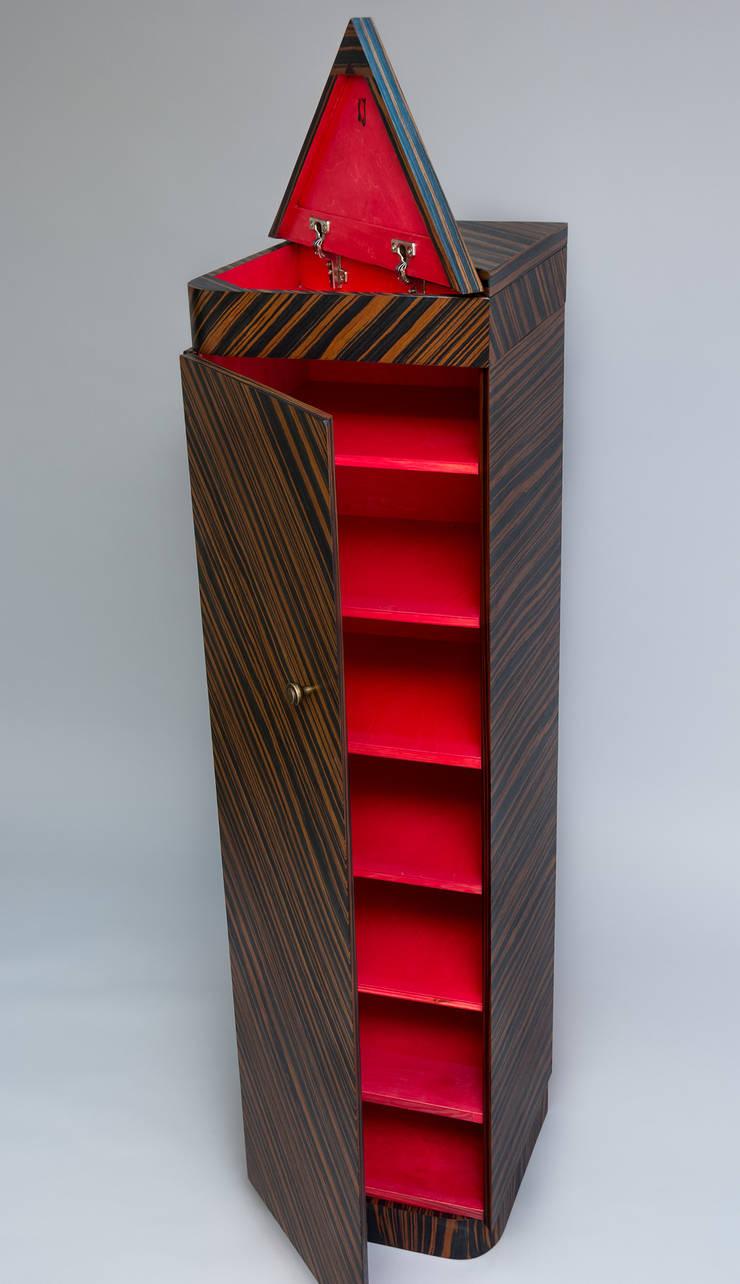 """Szafka na buty """"TOTEM"""" : styl , w kategorii Garderoba zaprojektowany przez Meble Autorskie Jurkowski"""