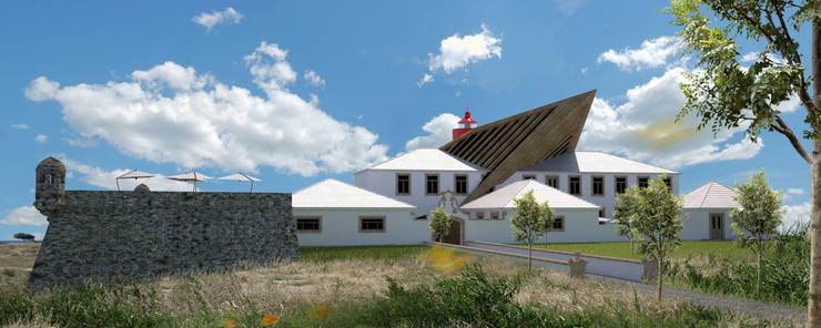 PT - Rendering; EN - Rendering; FR - Rendering.: Hotéis  por Office of Feeling Architecture, Lda