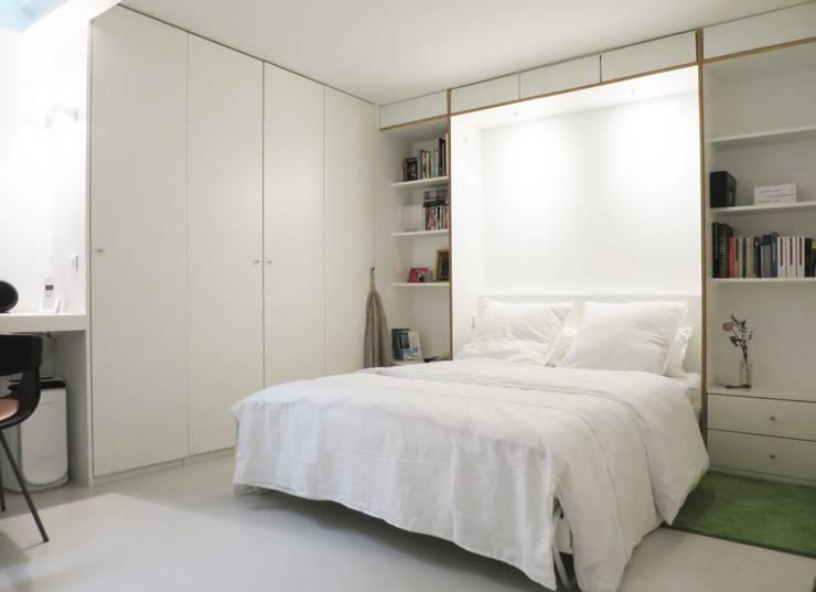 Projekty,  Sypialnia zaprojektowane przez Studio Pan