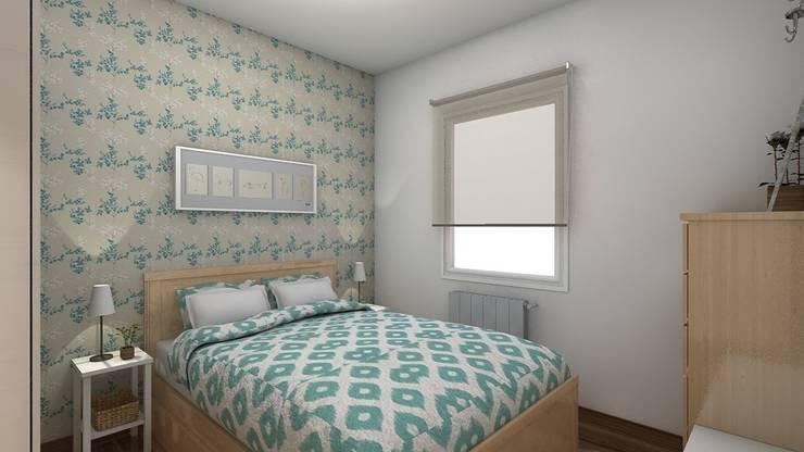 Dormitorios de estilo minimalista por beatriz gala reformas e interiorismo