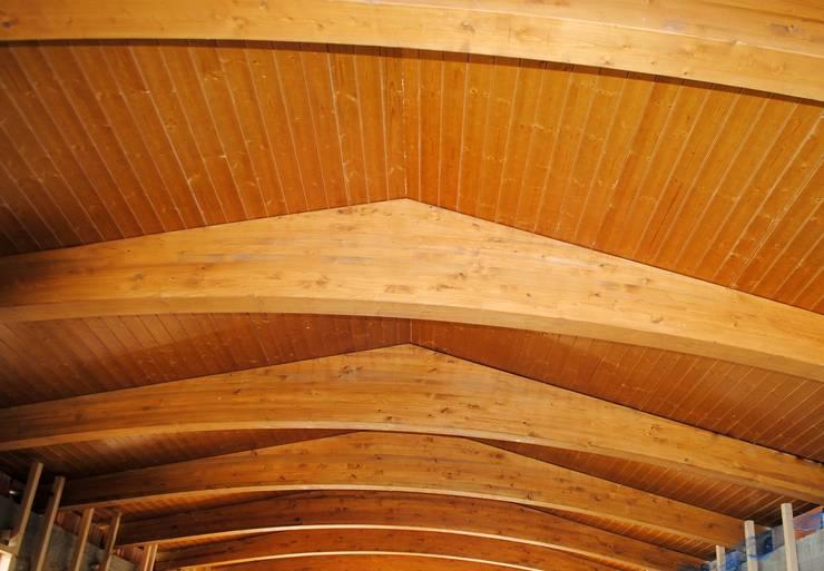 Estructura de madera: Salones de estilo clásico de CUTECMA Estructuras de madera