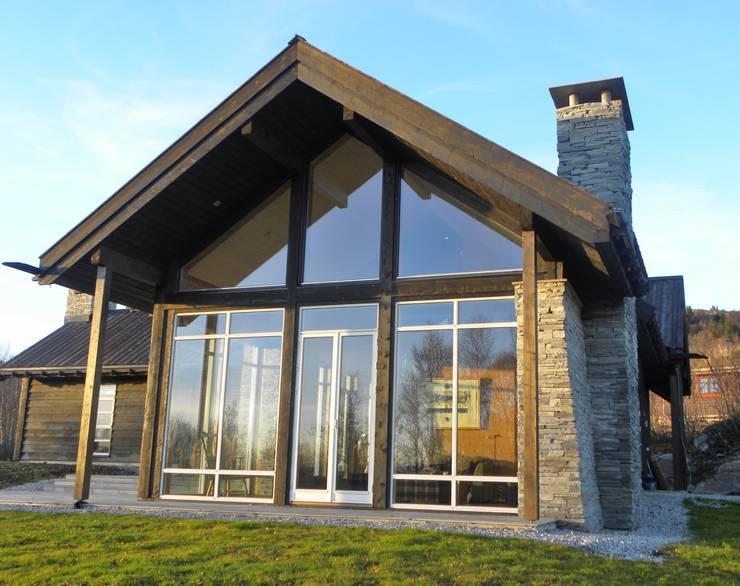 Gable end Casas de estilo escandinavo de Gullaksen Architects Escandinavo