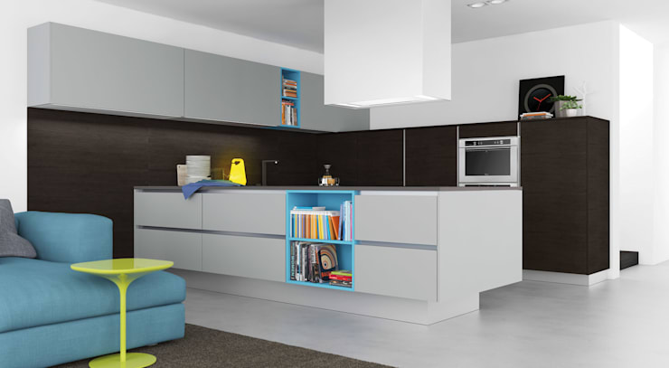 Cocina de estilo  por Alaris London Ltd