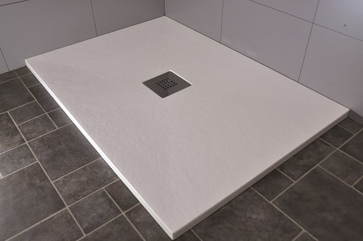 Plato de resina serie ENNA : Baños de estilo  de TODO PARA LA DUCHA