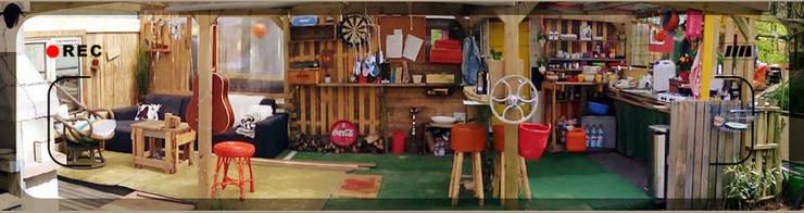 workshop meubel maken:  Tuin door Funky furniture