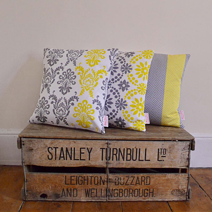 Sunny accent cushions:  Household by Atomic Doris