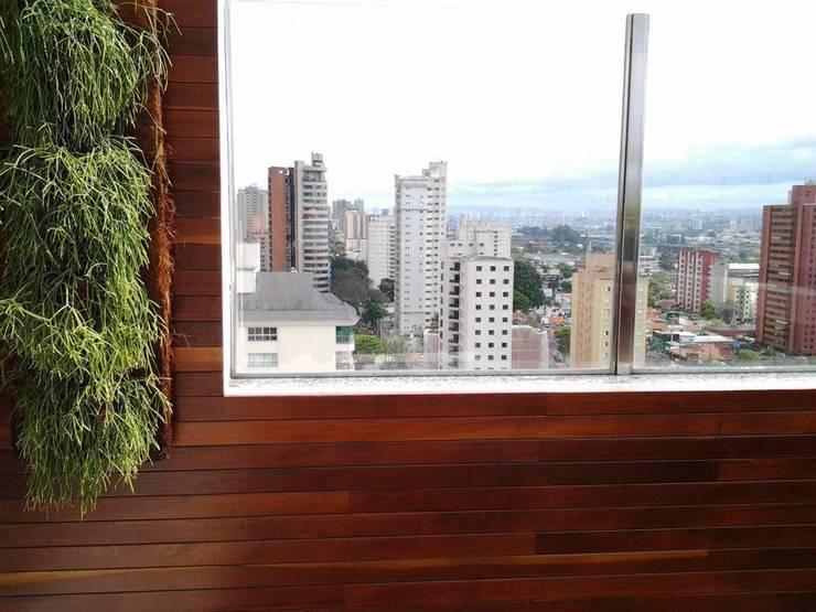Projeto 2: Piscinas  por Monica Rio Verde Paisagismo