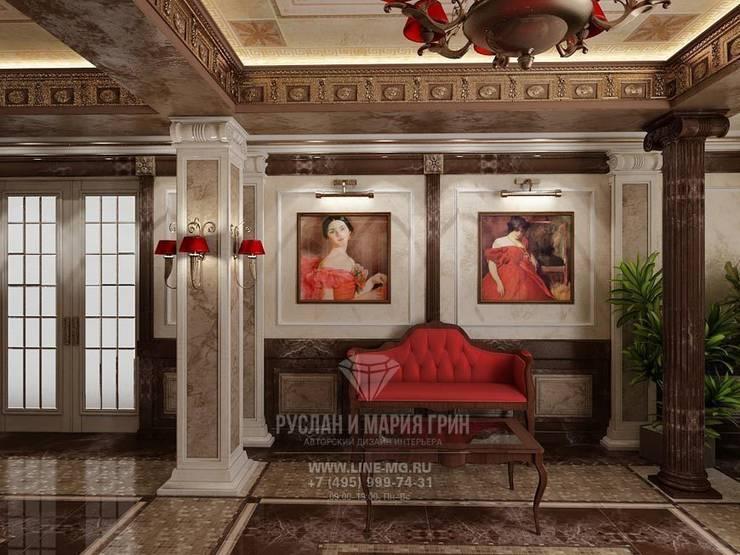 Дизайн мини-отеля из портфолио Студии Руслана и Марии Грин: Гостиницы в . Автор – Студия дизайна интерьера Руслана и Марии Грин, Классический