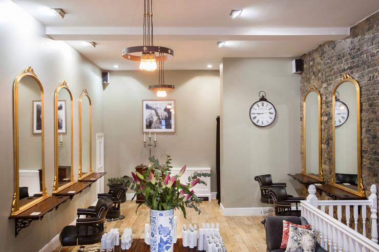 Shoreditch Hair Salon:  Commercial Spaces by Maklin & Macrae