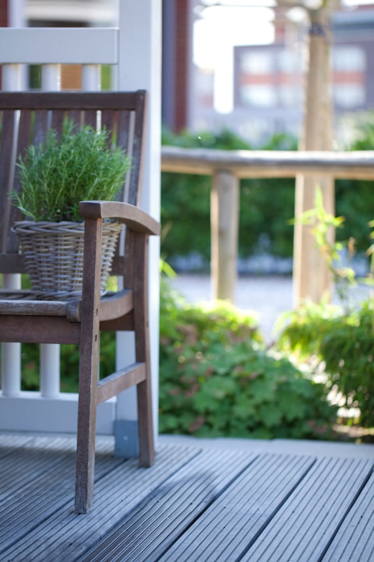 Balcones y terrazas rurales de Mocking Hoveniers Rural