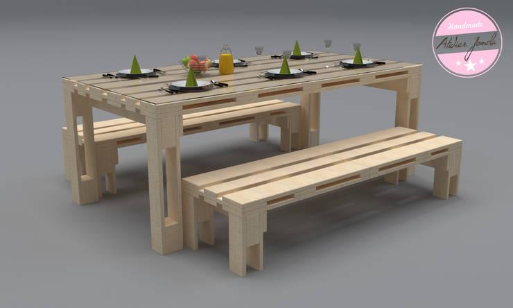 Sala de jantar  por agentur jonda