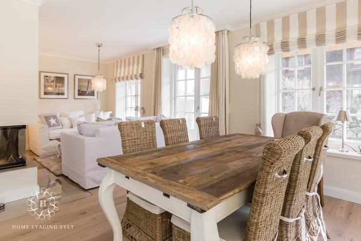 Столовые комнаты в . Автор – Home Staging Sylt GmbH