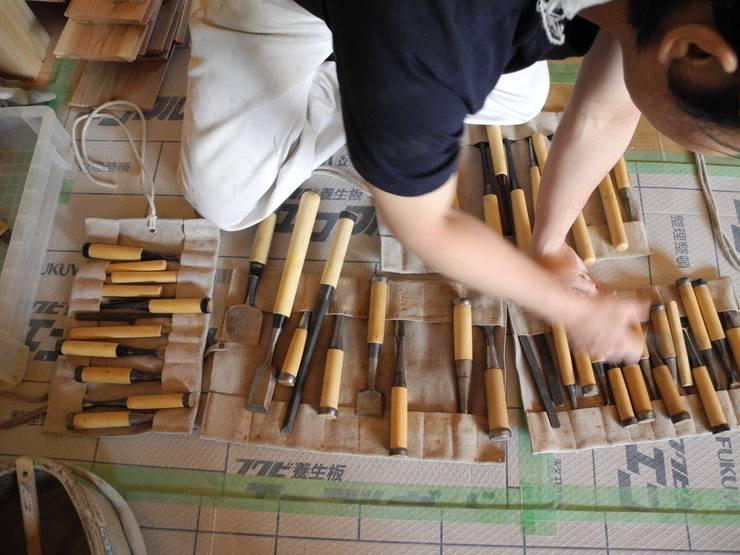 大工道具: 中村茂史一級建築士事務所が手掛けたキッチンです。,