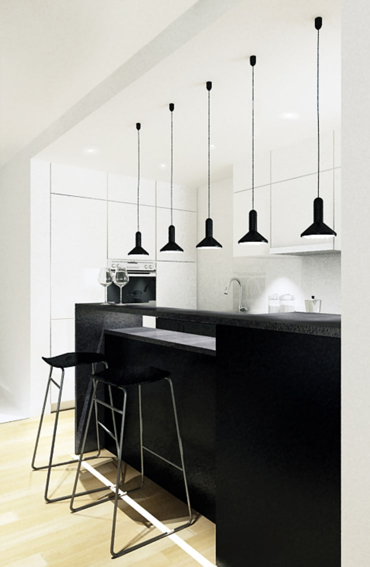 Dapur oleh COOLDESIGN, Modern