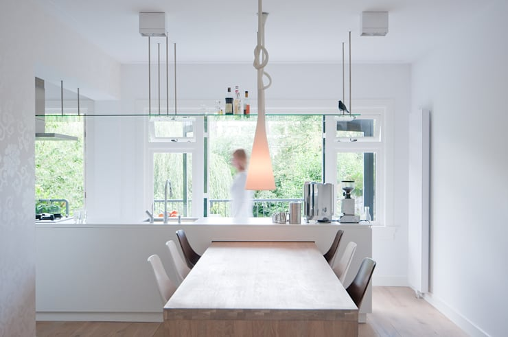 Woonhuis Utrecht:  Keuken door ontwerpplek, interieurarchitectuur