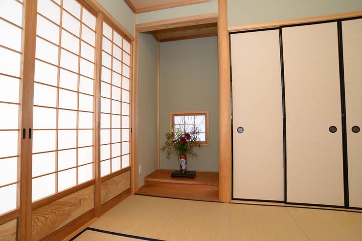 床の間: 鈴木住建が手掛けた壁です。
