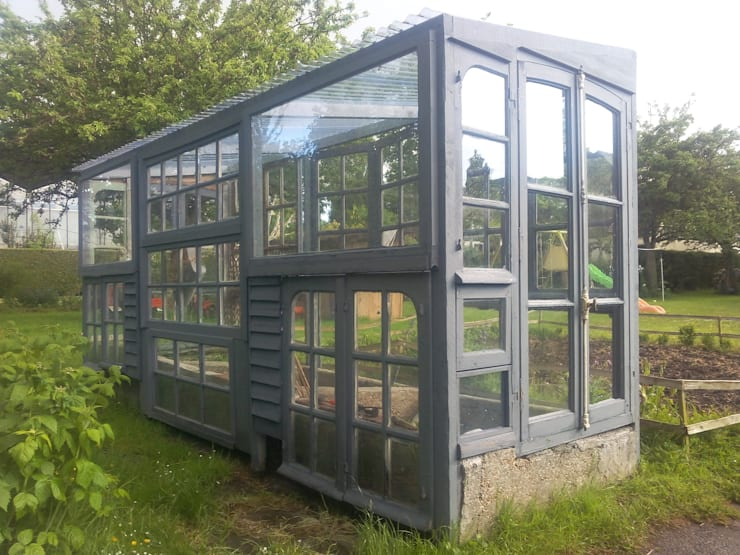 Serre: Jardin d'hiver de style  par Riennesecrée