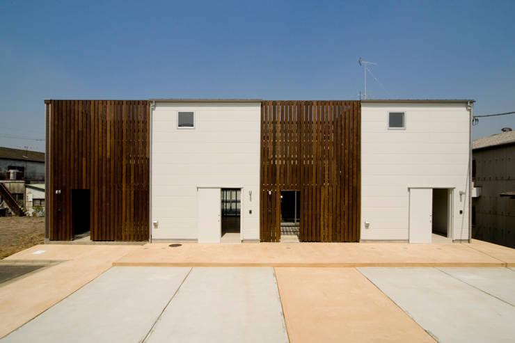 sora 外観: 【快適健康環境+Design】森建築設計が手掛けた家です。