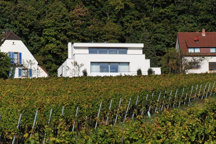 Wohnen zwischen Wald und Reben:  Häuser von Architekten BDA Becker | Ritzmann
