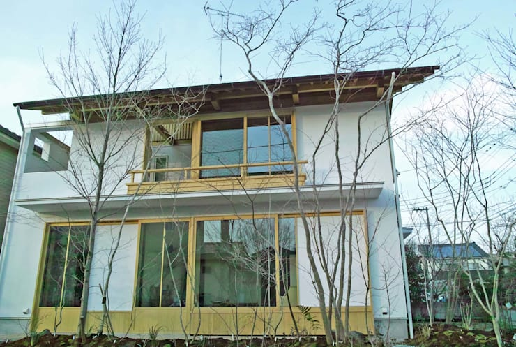 木立に暮らす・・ 二つの表情のある庭のこと・・ 町田市 O邸の庭づくり: 野草の庭・茶庭づくり 風(ふわり)が手掛けた庭です。