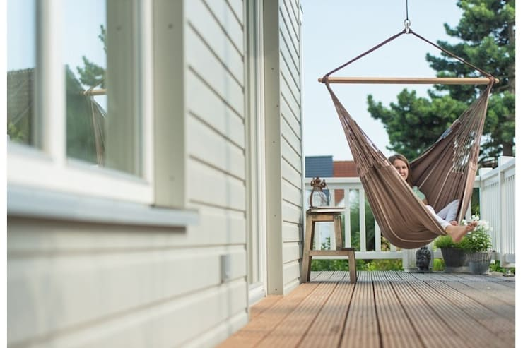 HABANA LOUNGER - FOTEL HAMAKOWY: styl , w kategorii Ogród zaprojektowany przez Hammock.pl