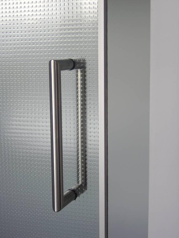 Rvs deurgreep:  Ramen door Buys Glas, Modern