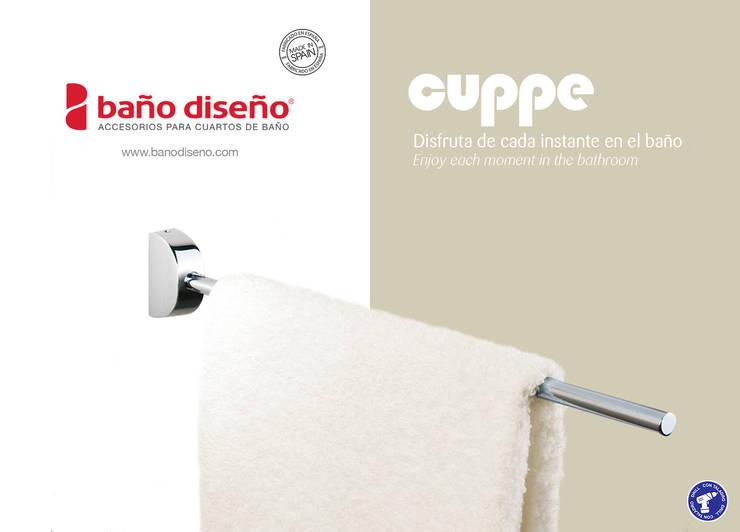 Colección CUPPE - accesorios de baño  - Baño Diseño: Baños de estilo  de Baño Diseño
