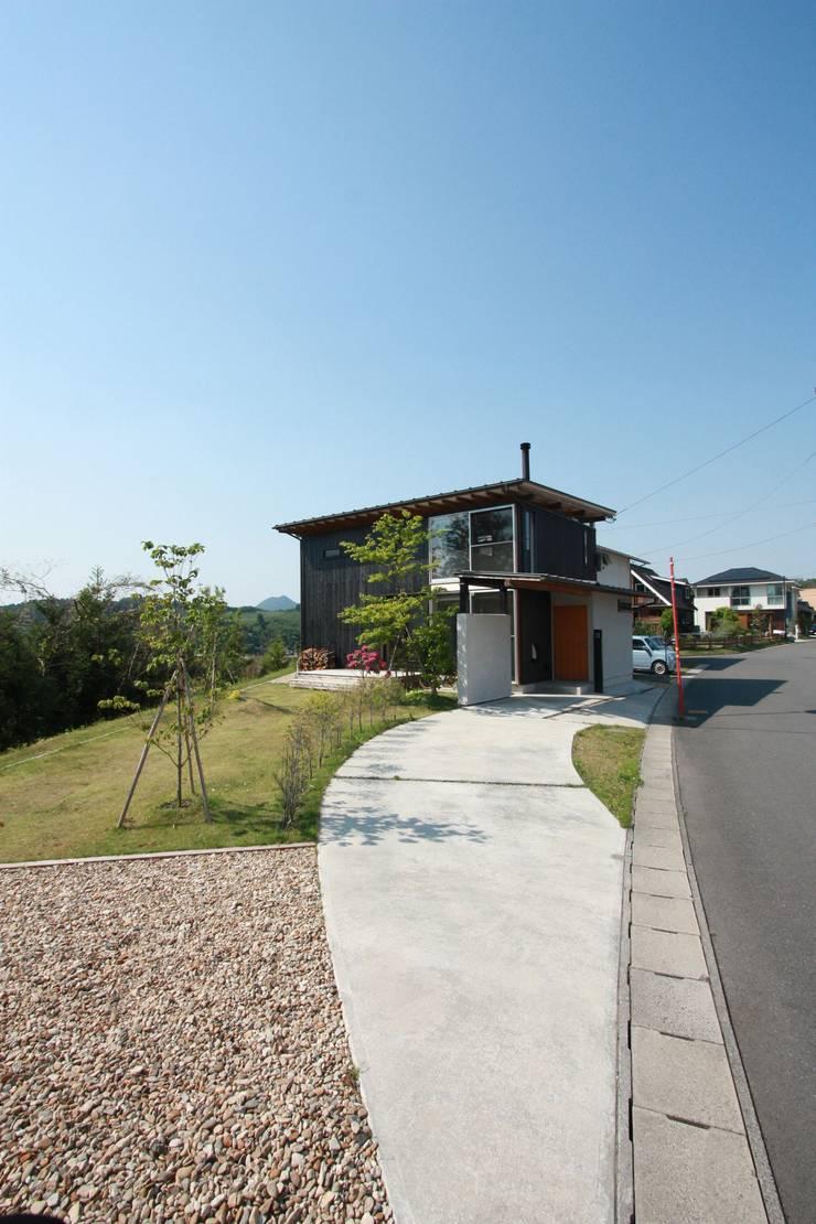 外観: 設計島建築事務所が手掛けた家です。