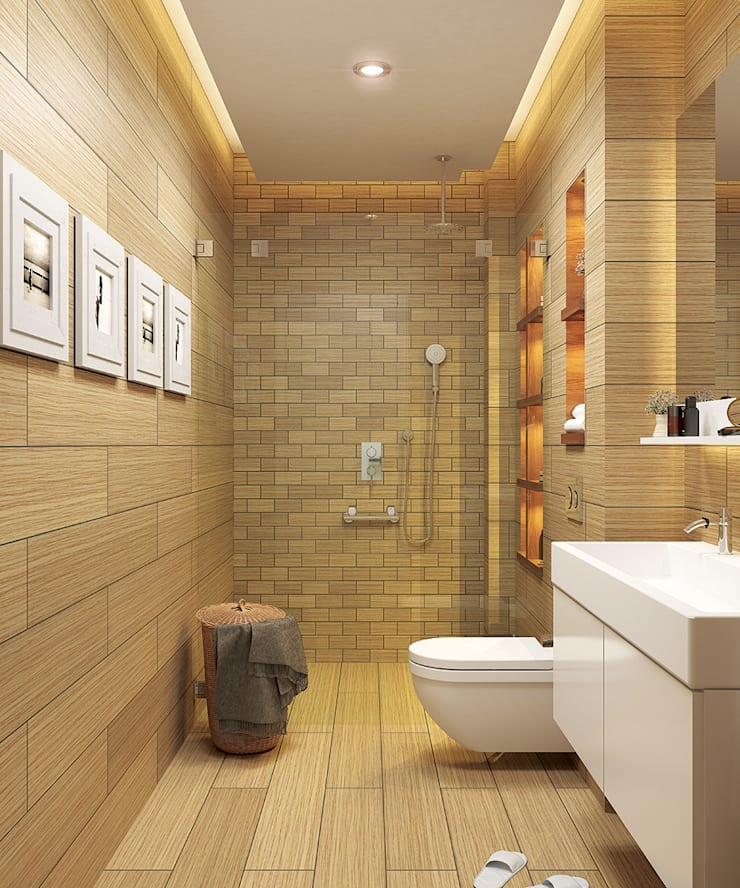 ARTHUR&MILLER – Novo Maison Bodrum:  tarz Banyo, Modern