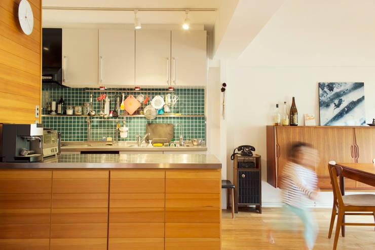 K邸 2010: ELD INTERIOR PRODUCTSが手掛けたキッチンです。,