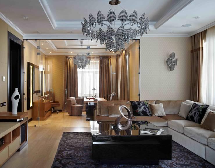 Загородный дом 450 кв м :  в . Автор – point-design.ru