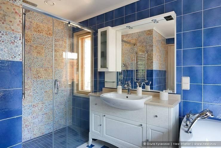 Honka, загородный дом для семьи из 6 человек: Ванные комнаты в . Автор – Ольга Кулекина - New Interior