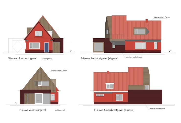 Definitief ontwerp:   door TTAB (Tjade Timmer Architect & Bouwadvies), Eclectisch