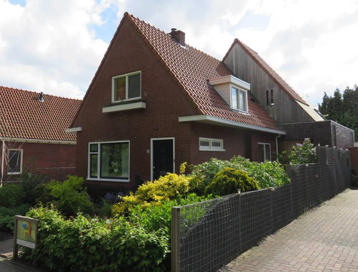 Verbouw Woonhuis Timmer – Winschoten  2009-2015:   door TTAB (Tjade Timmer Architect & Bouwadvies), Eclectisch