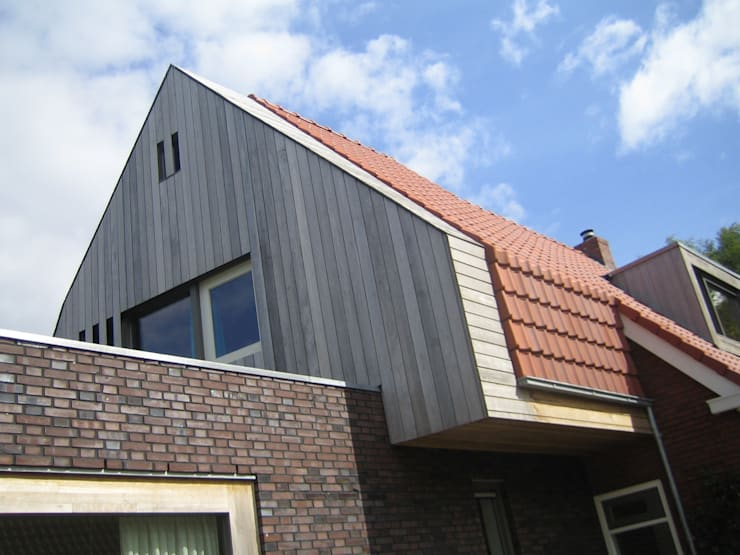 Verbouw Woonhuis Timmer - Winschoten  2009-2015:   door TTAB (Tjade Timmer Architect & Bouwadvies), Eclectisch