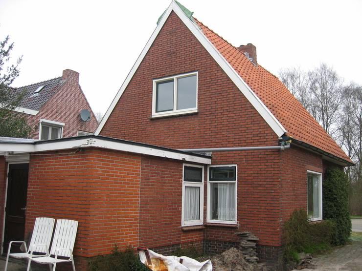 Oude situatie :   door TTAB (Tjade Timmer Architect & Bouwadvies)
