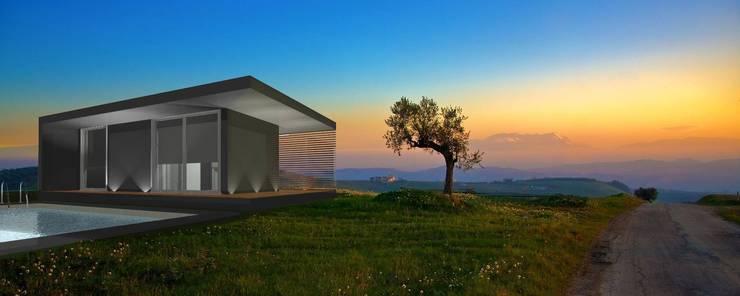 Estudo Modular tipo T1: Casas  por Idealiving