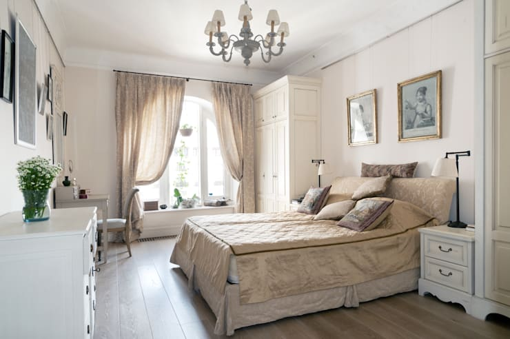Classic style bedroom by ANIMA Classic