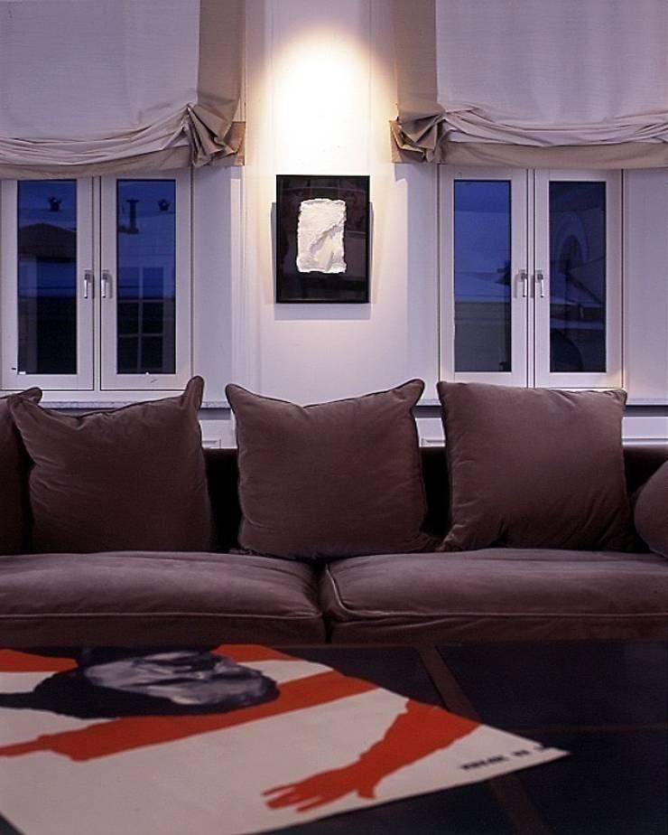 Квартира на Никитской: Гостиная в . Автор – ANIMA